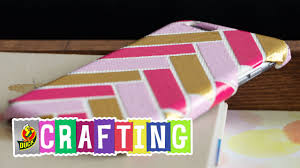 how to craft a duct tape phone case youtube