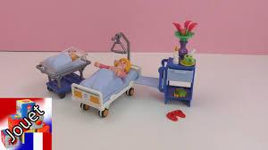 chambre enfant playmobil la chambre d hôpital avec un lit de bébé de playmobil review