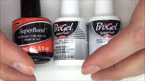 test pro gel super nail transparent base et top coat youtube