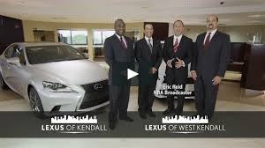lexus kendall service lexus of kendall u0026 lexus of west kendall with eric reid on vimeo