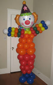 clown baloons balloon sculptures balloon decor of central california