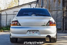 modified mitsubishi lancer 2000 brad u0027s lancer evo8 stanced up