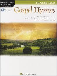 Play The Old Rugged Cross Gospel Hymns Instrumental Play Along Tenor Saxophone Sax Sheet