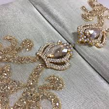 bling wedding invitations royal boxed lace crown brooch wedding invitation creation