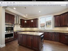 dark and light kitchen cabinets hickory floors cherry cabinets home ideas pinterest 15 cool dark