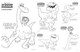 the good dinosaur coloring pages and activity sheets gooddino