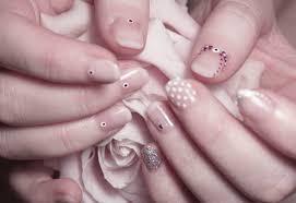 six easy bridal nail designs