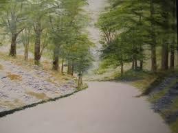 fan brush oil painting elinadergacaartist custom oil painting watercolor