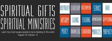 sermon categories spiritual gifts spiritual ministries