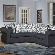 Apartment Size Loveseat Living Room Modern Leather Sectional Sofa With Recliners