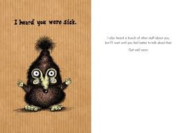 card for sick friend bald greeting cards are s true best friend of attack