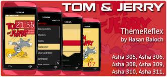 themes nokia asha 310 free download requested theme tom jerry theme for nokia asha 305 asha 306