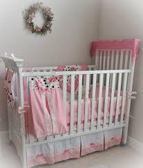Girls Nursery Bedding Set by Handmade 8 Piece