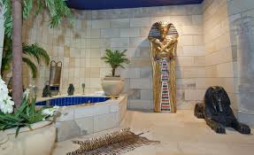 egyptian designs are important elements of egyptian interior style