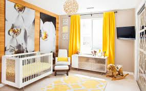 Yellow Nursery Curtains The Way To Brighten Up A Room With Yellow Curtains