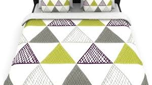 Duvet Covers Grey And White Amazing Laurie Baars Textured Triangles Green Gray White Duvet Cover For Gray And White Duvet Cover 585x329 Jpg