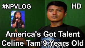 My Heart Will Go On Meme - america s got talent celine tam 9 years old my heart will go on