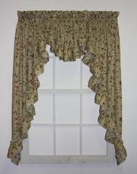 White Curtains With Green Leaves by Swag Curtains Swags Window Curtains U0026 Window Treatments U2013 Window