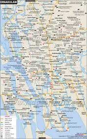 Driving Distance Google Maps Ernakulam City Map