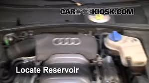 2001 audi a6 transmission fluid check windshield washer fluid audi a6 1998 2004 2004 audi a6