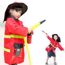 Firefighter Halloween Costume Aliexpress Buy Halloween Costumes Kids 1set Child
