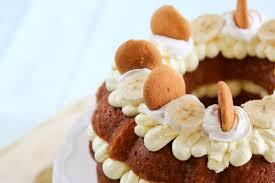 banana pudding bundt cake