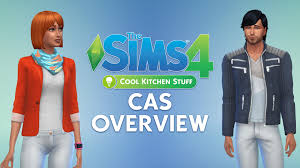 the sims 4 cool kitchen cas overview sims community