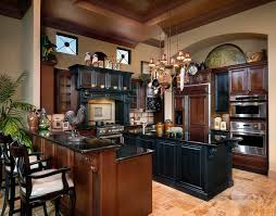 Black And Brown Kitchen Cabinets Ibis Golf Country Club Contemporary Kitchen Miami By