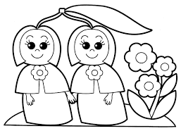 coloring pages of babies nature and plants coloring pages for babies 3 nature and plants