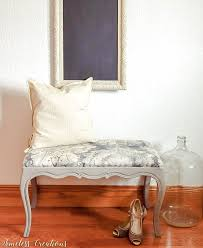 upholstered french style bench timeless creations llc