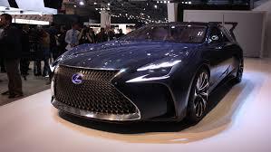 youtube lexus lf fc lf lc concept heralds future lexus fuel cell flagship sedan auto