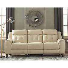 Reclining Sofas Leather Leather Sofas Sectionals Costco