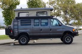 nissan cargo van 4x4 sportsmobile custom camper vans pre owned vans california