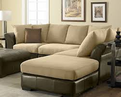 Leather And Suede Sectional Sofa Suede Leather Sofas Home And Textiles