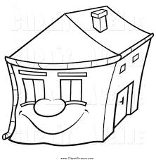 house outline free house clipart black and white image 2433 house outline