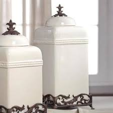 fleur de lis kitchen canisters 189 best home kitchen canisters images on kitchen