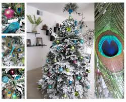live laugh l ve our peacock christmas tree