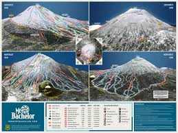 Mt Washington Map by Mt Bachelor Trail Map