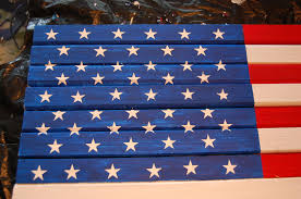 Flying The American Flag With Other Flags Make A Pottery Barn Inspired Flag