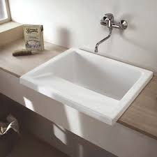 kitchen and utility sinks clearwater ceramic utility laundry sink inc flip top waste