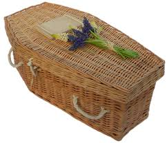 baby willow traditional coffin wicker willow coffins earth to