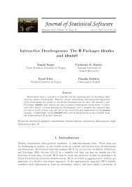 Charles Sieger Interactive Dendrograms The R Packages Idendro And Idendr0