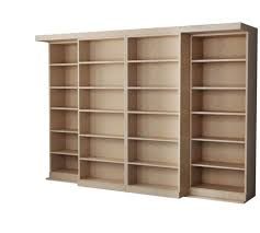 furniture home alder bookcase unfinished wooden bookcases solid