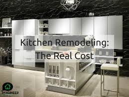 How To Remodel A Galley Kitchen What Is The Average Cost To Remodel A Kitchen