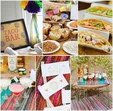 taco bar dinner party ideas build your own taco bar party making a