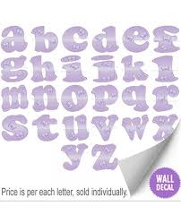 Wall Letter Decals For Nursery Decorative Wall Stickers Nursery Bedroom Decals Baby Letters