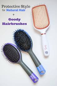 goody hair protective style for hair goody brushes livinglesh