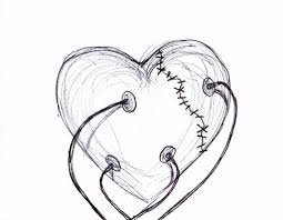 pencil drawing of a heart 17 best images about hearts on pinterest
