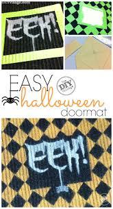 halloween doormat 2473 best halloween crafts u0026 recipes images on pinterest