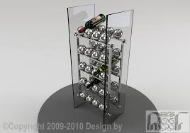 wine rack 004 assf advanced stainless steel furniture